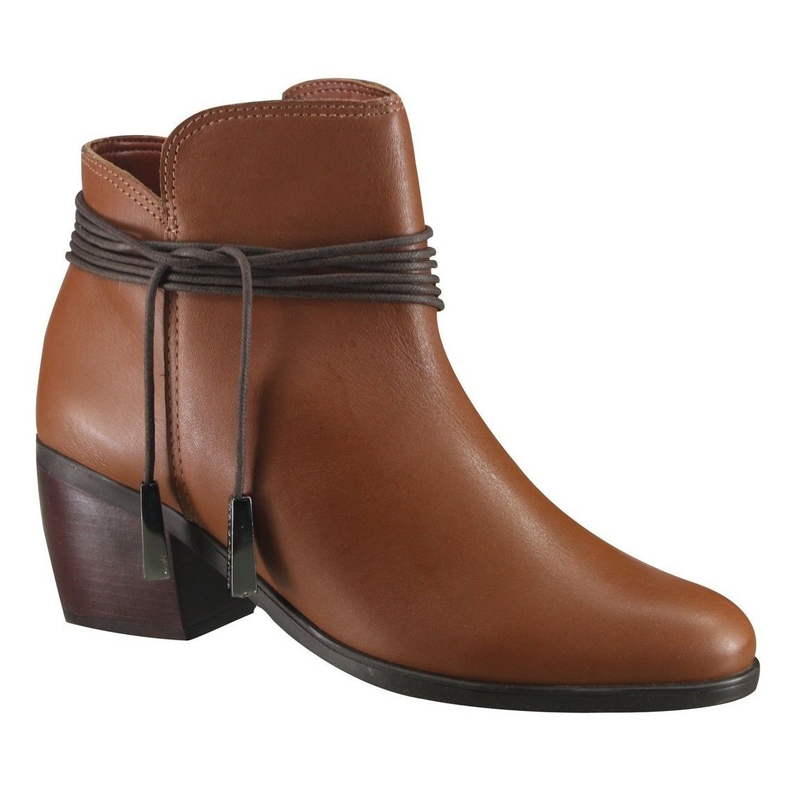 09fd3d16c3 Bota Cravo E Canela Ankle Boot 144213-2