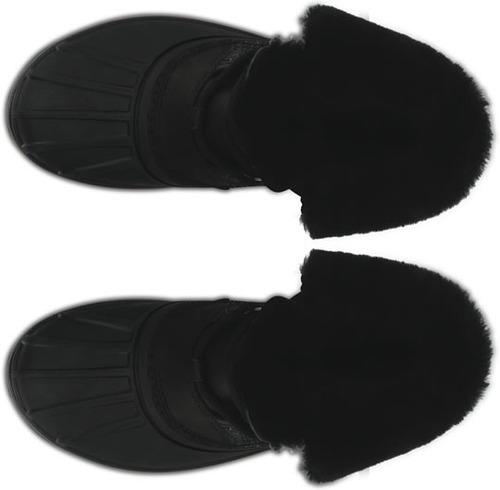 bota crocs dama all cast ii lujo negra