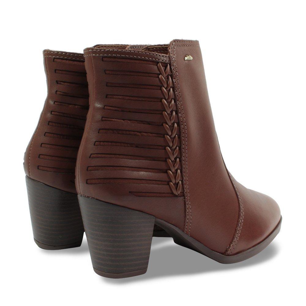 de66801fd bota dakota cano curto em couro b9912 feminino canela. Carregando zoom.