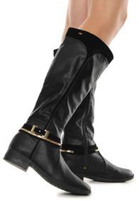 cb7a9d6d8e Bota Montaria Preta Dakota - Sapatos no Mercado Livre Brasil