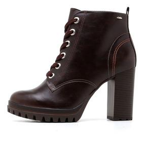 32881df851 Bota Salto Fino Com Cadarço - Sapatos com o Melhores Preços no Mercado  Livre Brasil