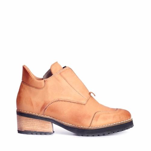 bota dama en cuero marcel calzados(cod.17511)