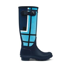 Botas Lluvia Mujer Hunter Ropa, Calzados y Accesorios Azul