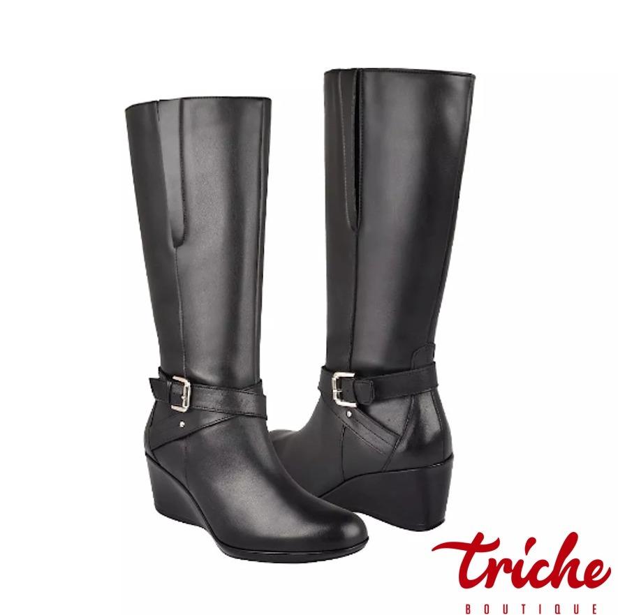 600f62a2ae7 bota dama negro flexi 26518 confort casual larga. Cargando zoom.