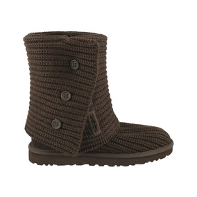 Ugg Wool Knit Bota Dama Inbox Brown Cardy Store 7ybYgf6v