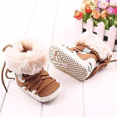 bota de bebe cafe 0-12 meses calzado zapatos navideños niñas