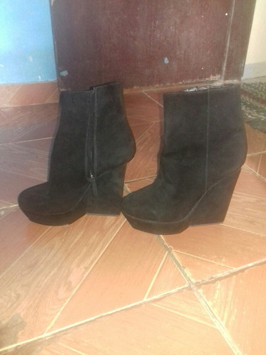 bota de camuça