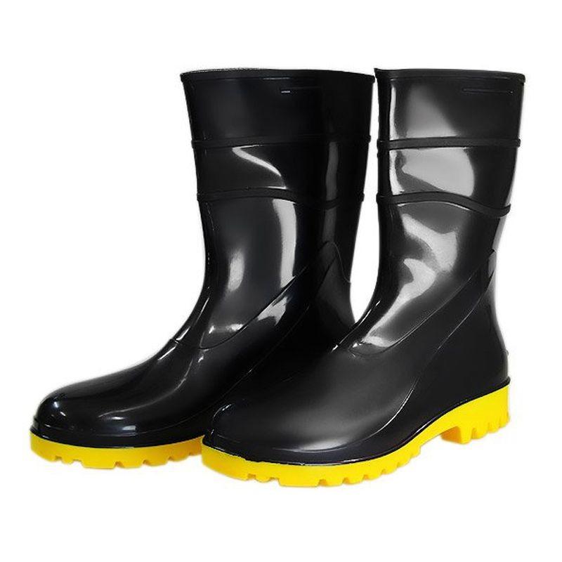 6365873f70e bota de chuva bracol pvc c  forro preto e amarelo tamanho 41. Carregando  zoom.