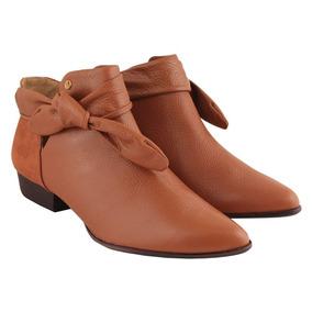 7cbbc82d0 Bota Caramelo Cano Curto Botas - Sapatos para Feminino no Mercado Livre  Brasil