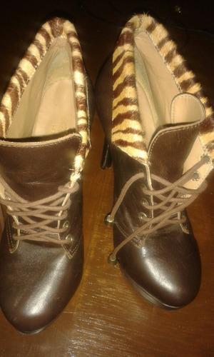 bota de couro legítimo cemi nova