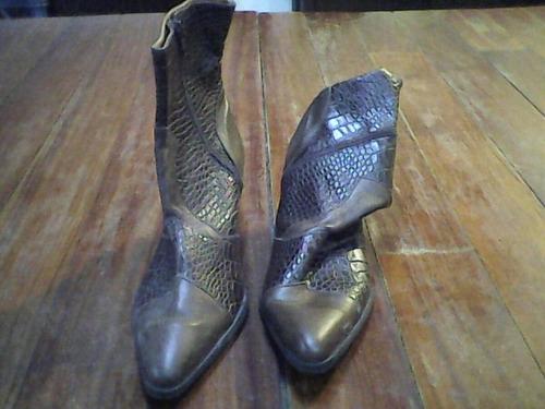 bota de cuero nueva sin uso (zona ramos mejia )