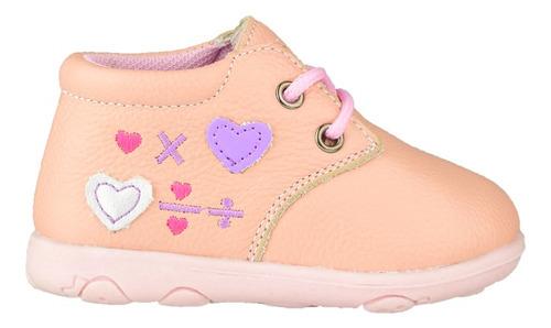 bota de cuero para bebé guga love - toto
