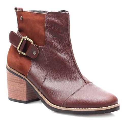 bota de dama de cuero marcel calzados (mod.19759)