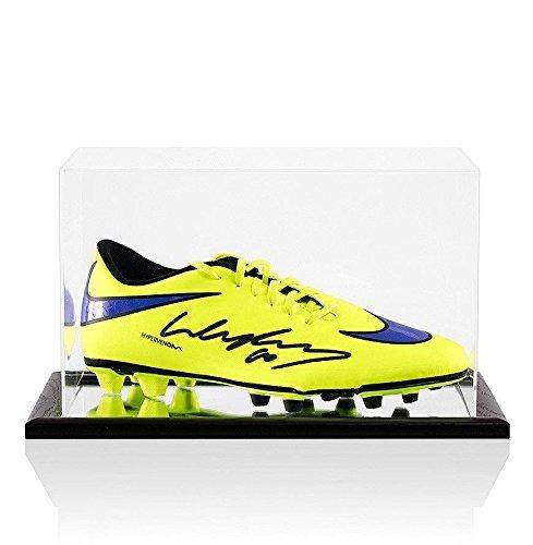 Bota Rooney Nike Wayne Amarilla Hypervenom Fútbol Firmada De rnqAxwS1r