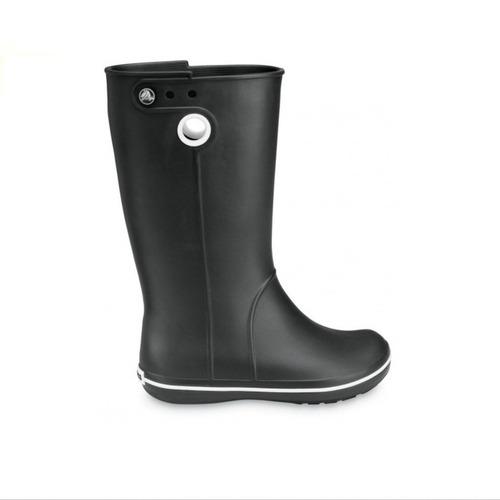 bota de lluvia crocs crocband jaunt w :: black liquidacion!!
