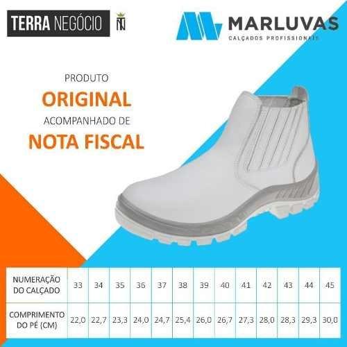 514fe35c7407d Bota De Proteção Sanitária Microfibra Lavável Marluvas 70b19 - R ...