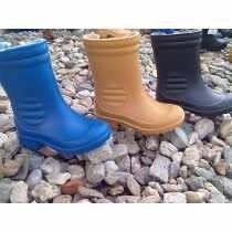 bota de pvc para niños colores variados