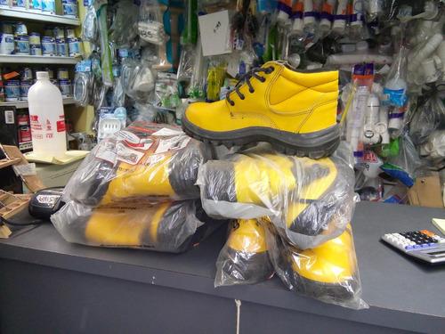 bota de trabajo amarillo  mercure
