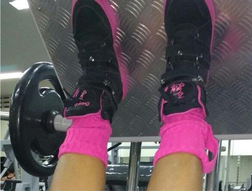 bota de treino feminina tênis sneaker academia couro fitness