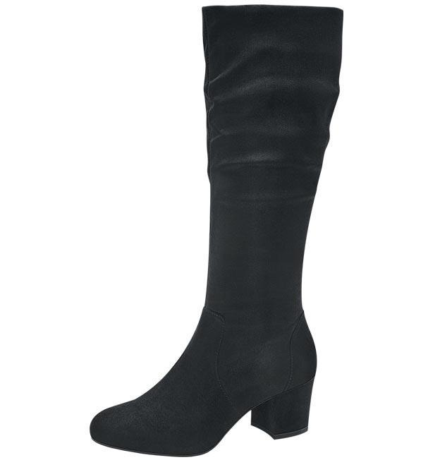 a2ba6669d0 Bota De Vestir Larga Dama Negro Yaeli Elegante Lady Viaje -   843.00 ...