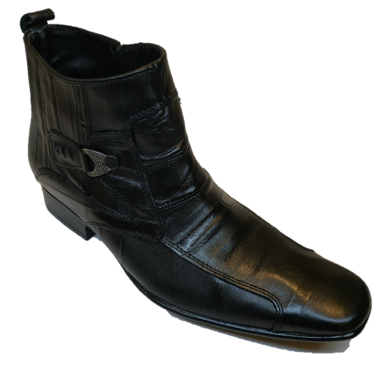 f2338addb75 Bota De Vestir Para Hombre En Piel Grabada -   489.00 en Mercado Libre