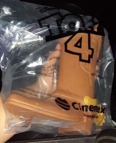 bota de woody de toy story 4 de cinemex nuevo!!!