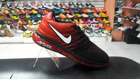 Nike Air Max Waterproof Bota Zapatos Nike de Hombre Rojo
