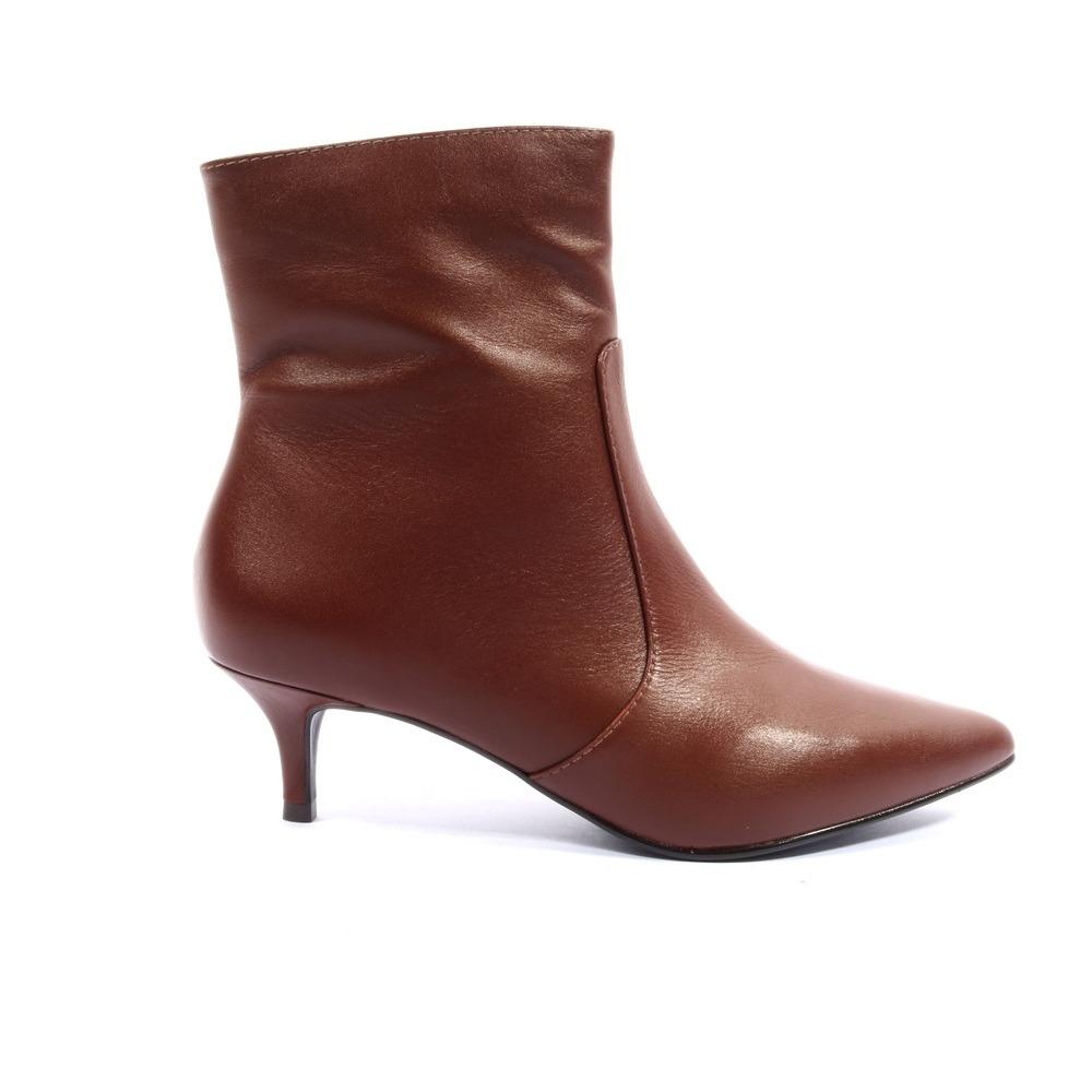 ac53de8285 bota divalesi feminina couro vaqueta. Carregando zoom.