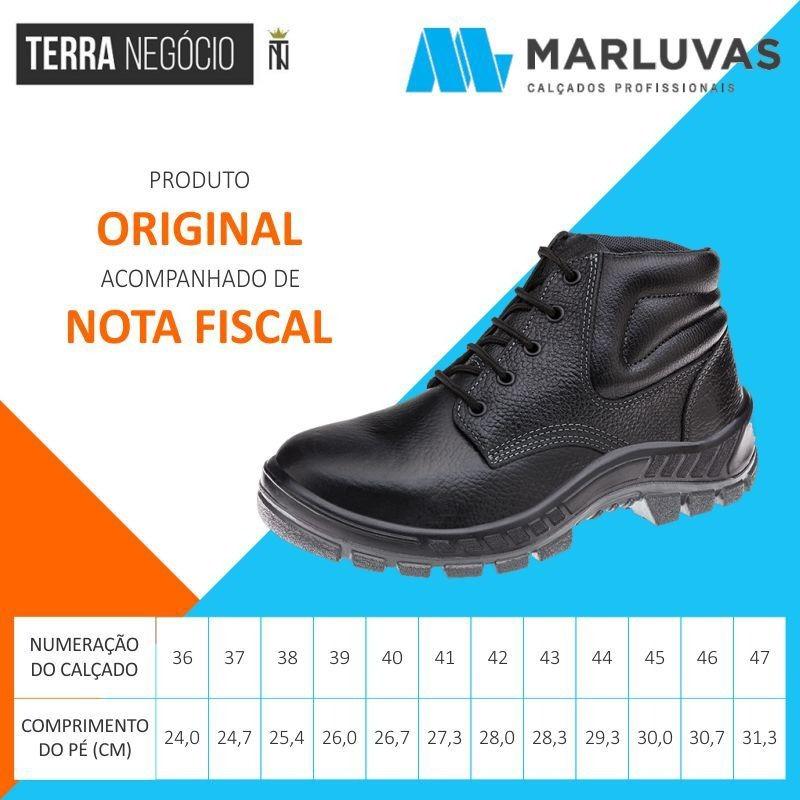 3a55636e57a33 Bota Eletricista Biqueira Pvc Butina Marluvas Original 50b22 - R ...