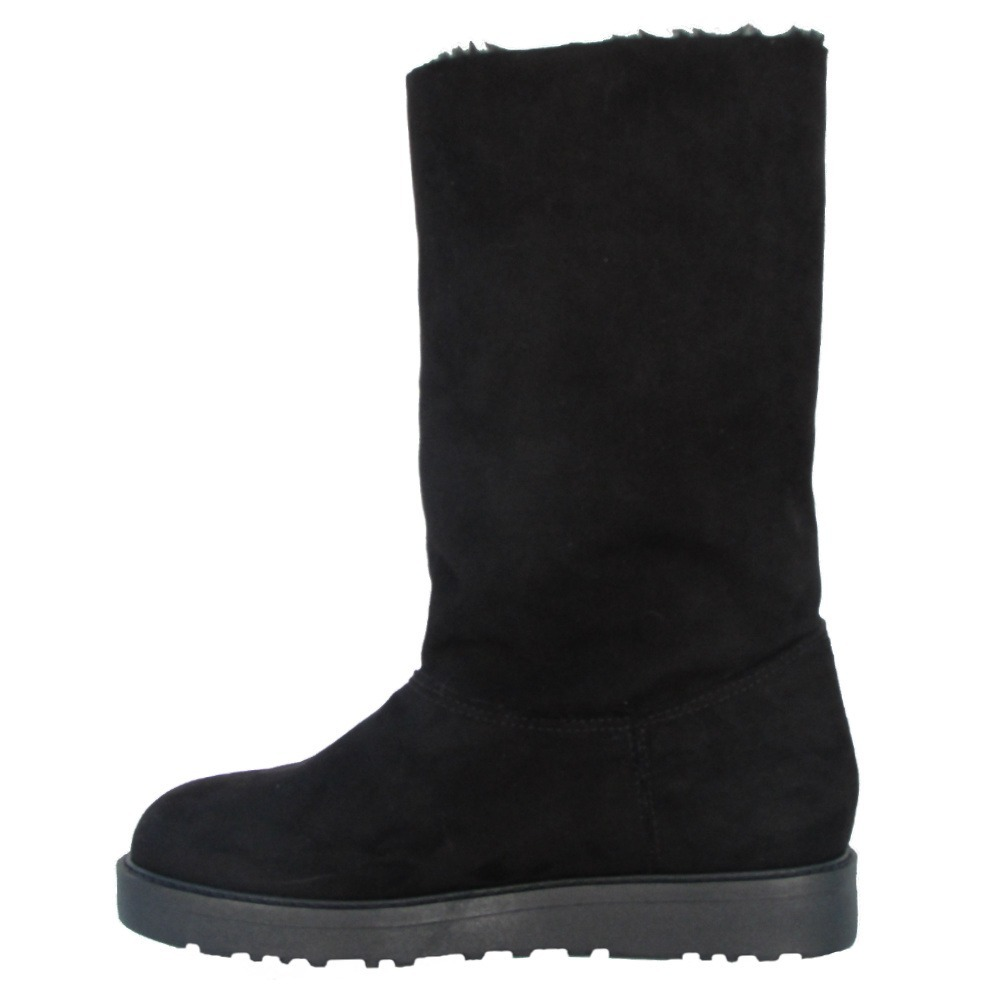 bota estilo ugg feminina pelo pelúcia com botões. Carregando zoom. c03f32dcea394