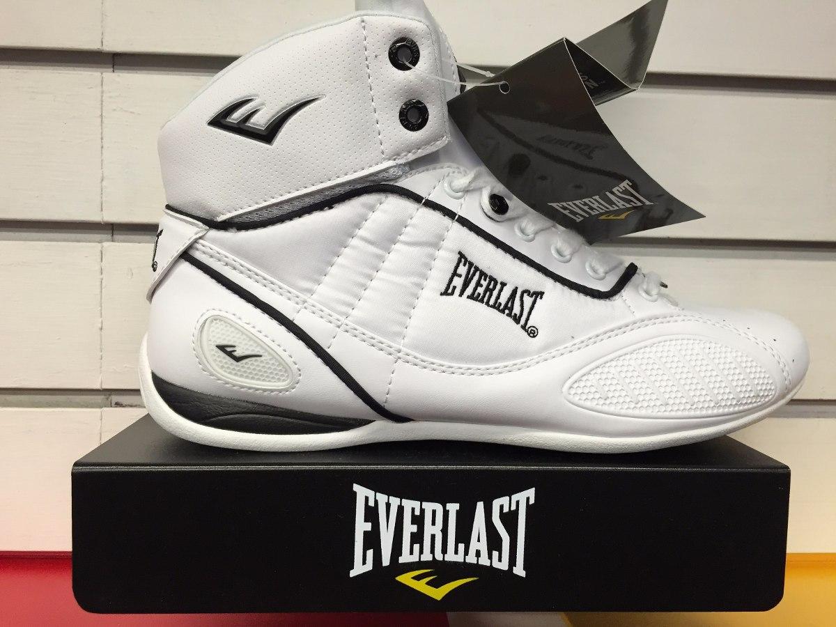 Bota Original Everlast Entrenamiento Box Caja Blanco Y T5Kcul1FJ3