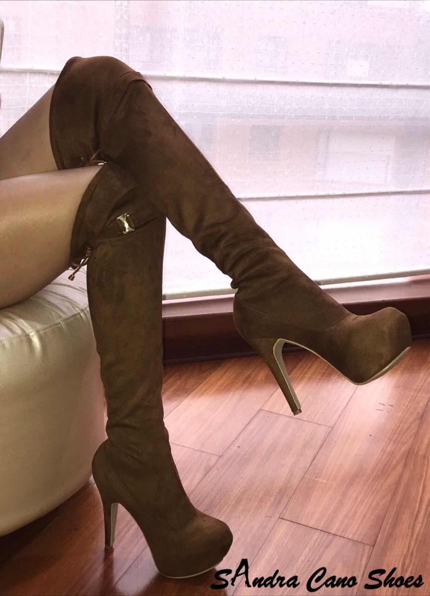Botas Extra Larga Para Mujer Sandra Cano Shoes