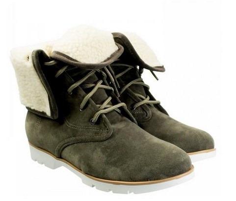 bota femenina doble uso crysalis invierno corderito forrada