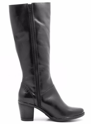 bota feminina ajustável na panturrilha 9062--frete grátis