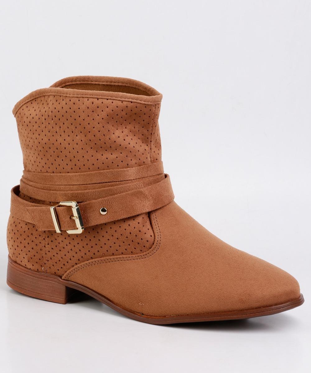 6df3e1b97 Bota Feminina Ankle Boot Moleca 5323.102 - R$ 139,99 em Mercado Livre