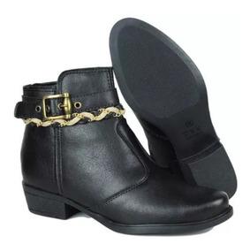 cef20d7c0 Ankle Bots Couro - Calçados, Roupas e Bolsas com o Melhores Preços ...