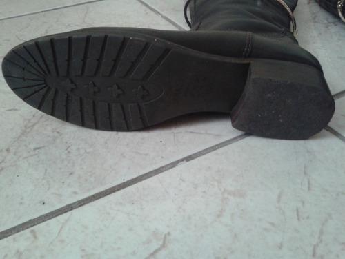 bota feminina arezzo couro tamanho 35