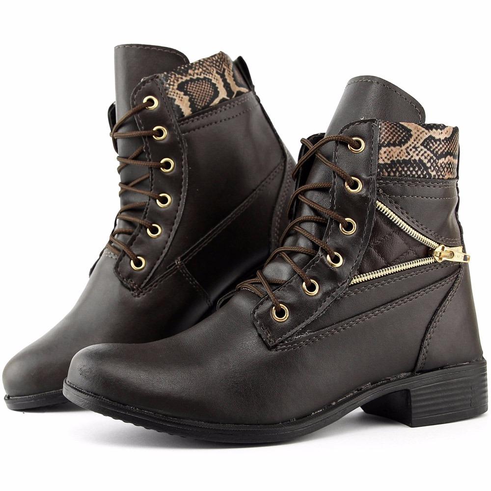 90f62171b bota feminina bota cano curto casual social lançamento. Carregando zoom.