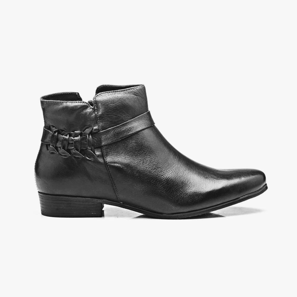 ef3bd087c0 bota feminina botinha baixa couro preto café bota bebe 405. Carregando zoom.