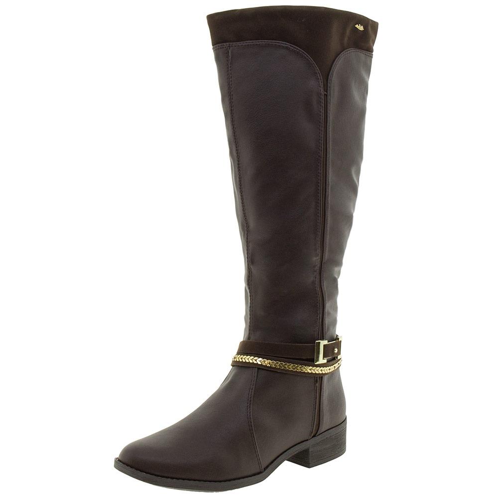 f0ea8cd815 bota feminina cano alto dakota - b89582 café. Carregando zoom.