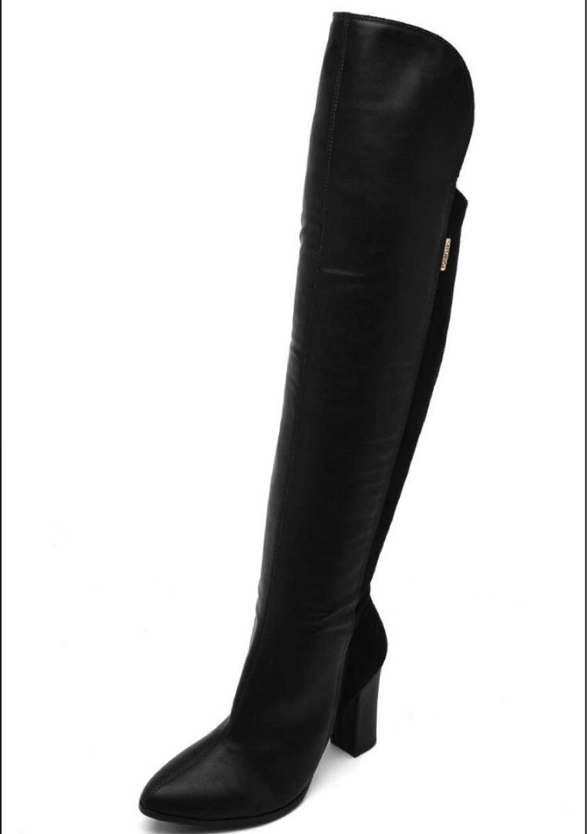 d29d8afc3f bota feminina cano alto over knee preta beira rio - 9043105. Carregando  zoom.