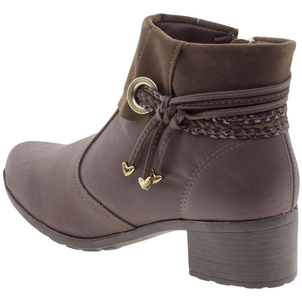2364e34336 bota feminina cano baixo mississipi - x9411 café. Carregando zoom.