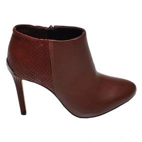 3ef79e1438 Sapato Abotinado Em Couro Legitimo Feminino Bottero Botas - Botas ...