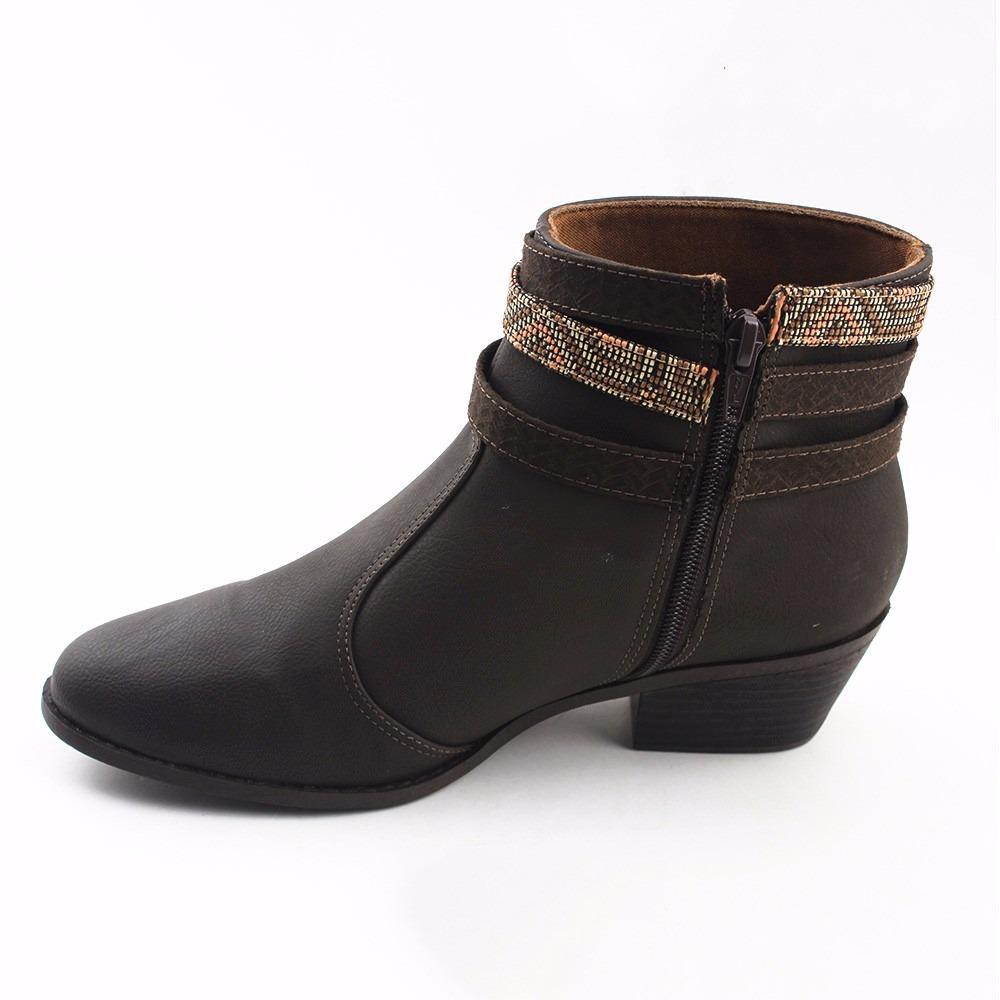 975777e58 bota feminina cano curto baixo bebecê cor café 2016 583174. Carregando zoom.