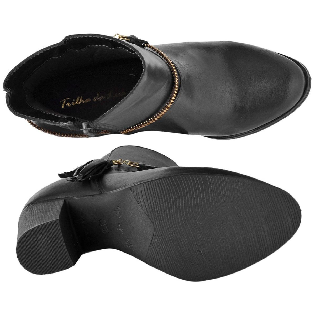 717318a682 bota feminina cano curto couro legítimo franja lateral c65cb. Carregando  zoom.