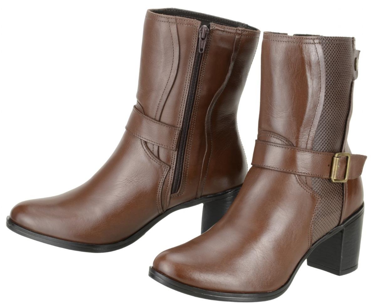 fa8c6b5f1 bota feminina cano curto dududias couro leg inverno 246. Carregando zoom.