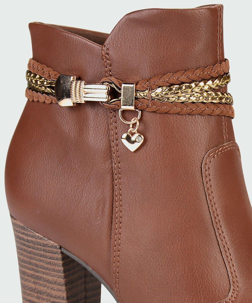 88ed6e80c bota feminina cano curto mississipi (dakota) castanho x7681i. Carregando  zoom.
