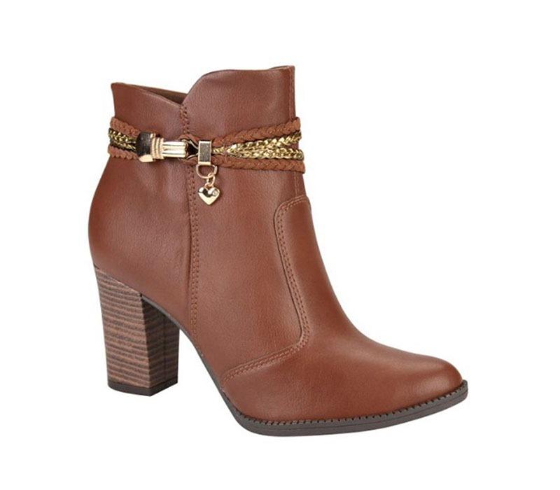 959e463ee bota feminina cano curto mississipi (dakota) marrom x7681i. Carregando zoom.