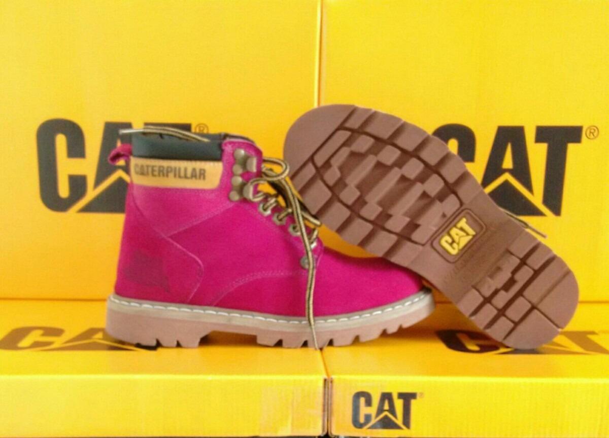 8784cd7d97 bota feminina caterpilar 100% couro lançamento promoção. Carregando zoom.