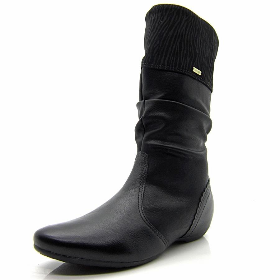 1597f75559b bota feminina comfortflex rasteira cano médio 2014 1491307. Carregando zoom.